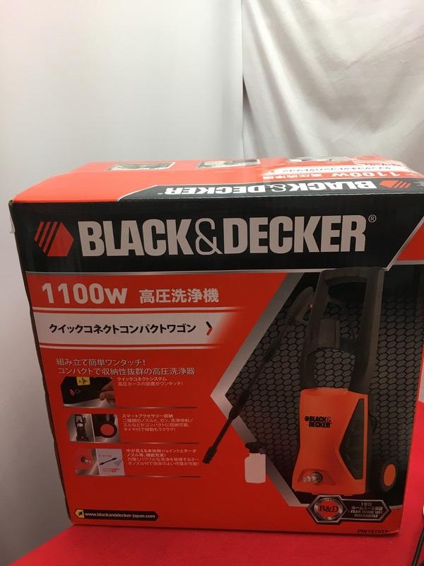 ブラック&デッカー 高圧洗浄機